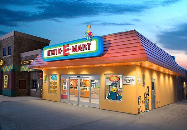 simpsons kwik e mart 153 - Estados Unidos: La tienda de Los Simpson llega al retail físico