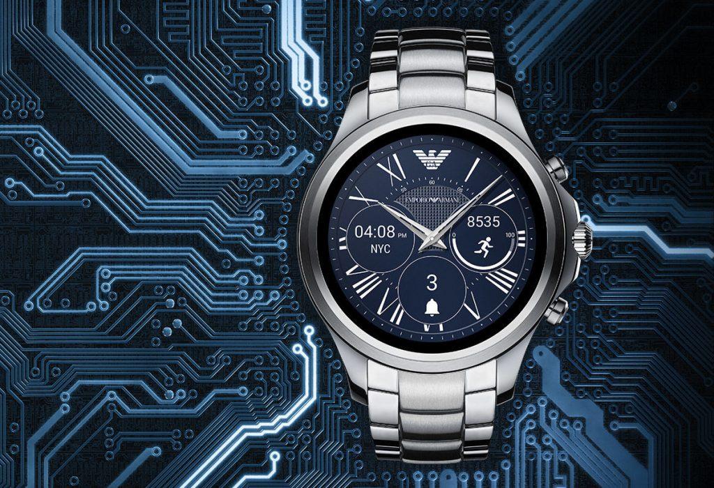 smartwatch armani 1024x700 - Fossil y Armani se suman a la moda de los smartwatches con Android
