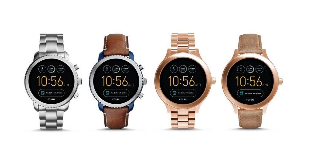 smartwatch fossil 1024x531 - Fossil y Armani se suman a la moda de los smartwatches con Android