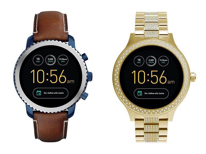 smartwatch fossil 2 - Fossil y Armani se suman a la moda de los smartwatches con Android