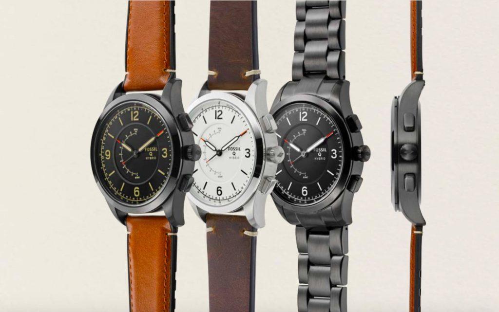 smartwatch híbrido fossil 1024x641 - Fossil y Armani se suman a la moda de los smartwatches con Android