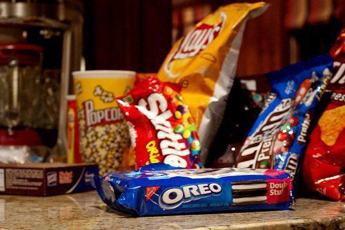 snacks consumo