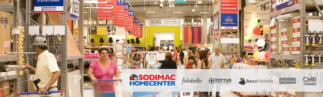 Empresas de home center se enfrentan a per odos de menor for Sodimac terrazas chile