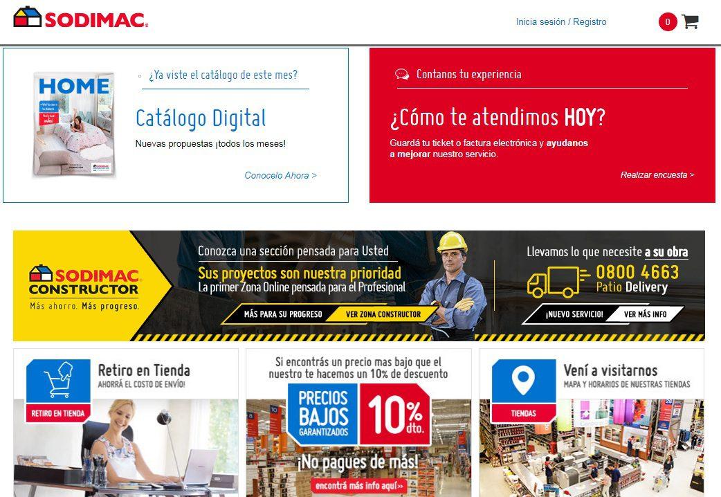 """sodimac web uy - Falabella: """"Tenemos que adaptar nuestro modelo de negocio al ecommerce"""""""