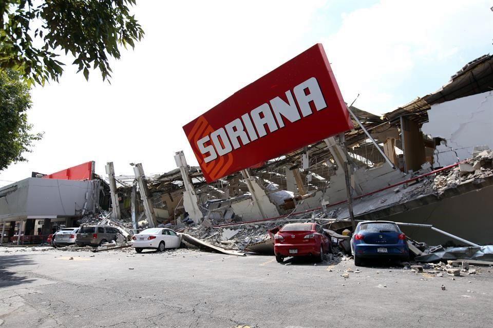 soriana méxico - Evalúan construir complejo inmobiliario donde se derrumbó tienda Soriana en México