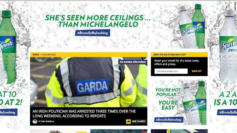 sprite brutally refreshing advertisement 780 - ¿Qué paso con la publicidad de Sprite en Irlanda?