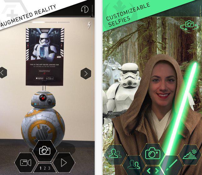 star wars captura 45 - Star Wars da vida a personajes a través de la realidad aumentada