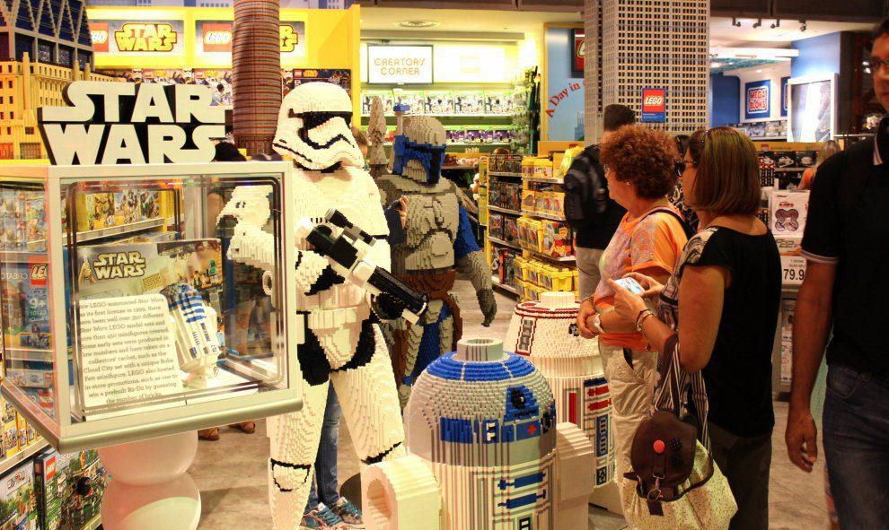 star wars lego 2 - Star Wars impulsa la venta de juguetes en Estados Unidos