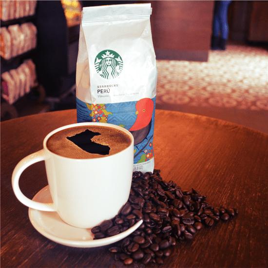 starbucks cafe peru - Starbucks celebra mañana su 13º aniversario y servirá café gratis por el Día del Café Peruano