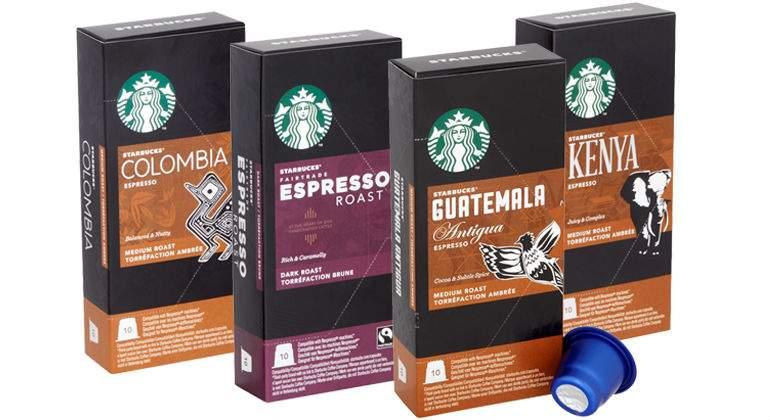 starbucks capsulas cafe expreso españa - Starbucks lanza nuevas presentaciones de su café expreso