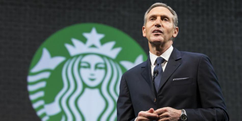 starbucks ceo - Starbucks contratará a 10 mil refugiados desafiando a Donald Trump