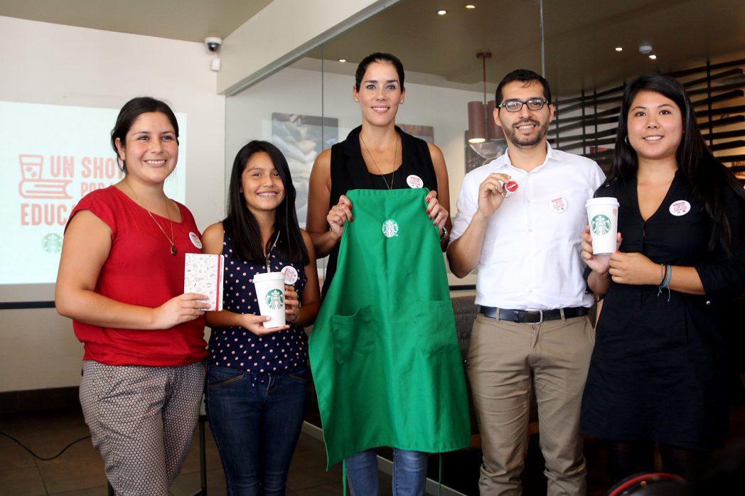 starbucks enseña peru 1 - Starbucks celebra mañana su 13º aniversario y servirá café gratis por el Día del Café Peruano
