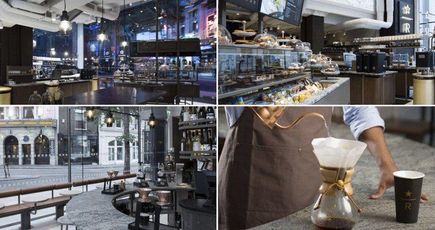 starbucks reserved bar alcohol - Starbucks inauguró en Londres su primer Reserve Bar de Europa