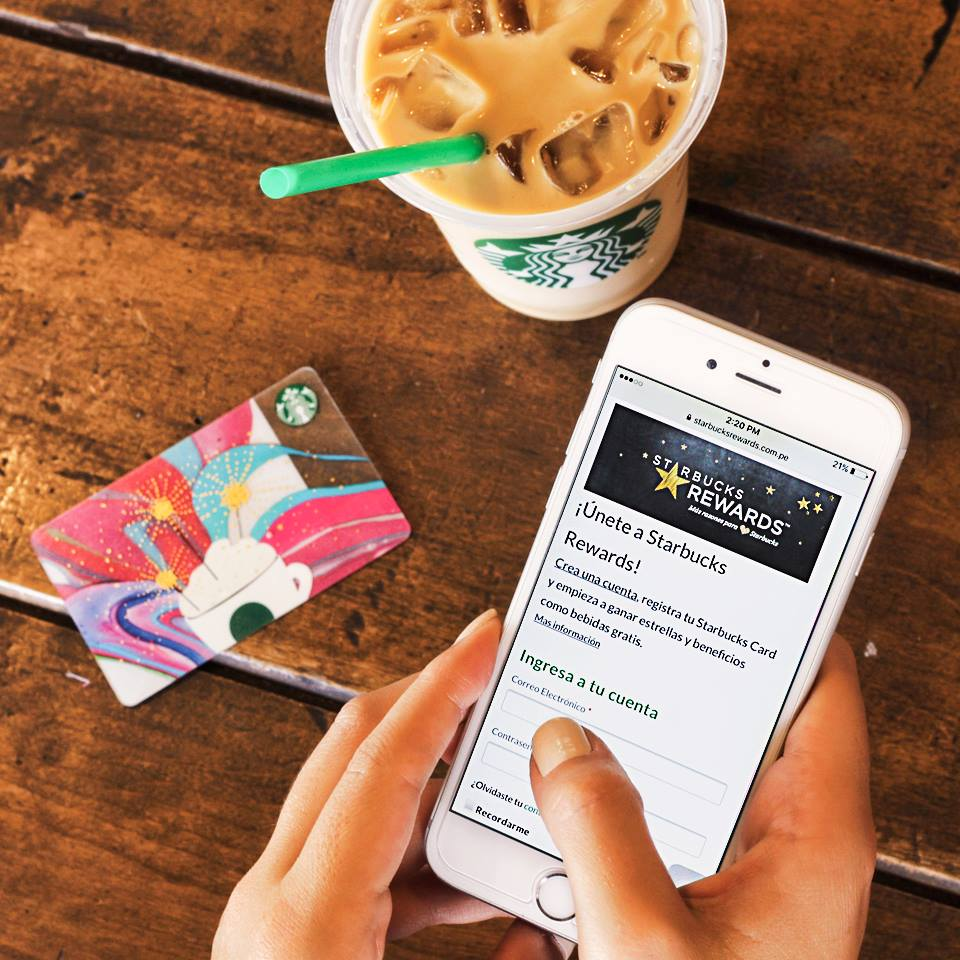 starbucks rewards 2 - Starbucks lanza app para comprar café y otros productos en todo el Perú