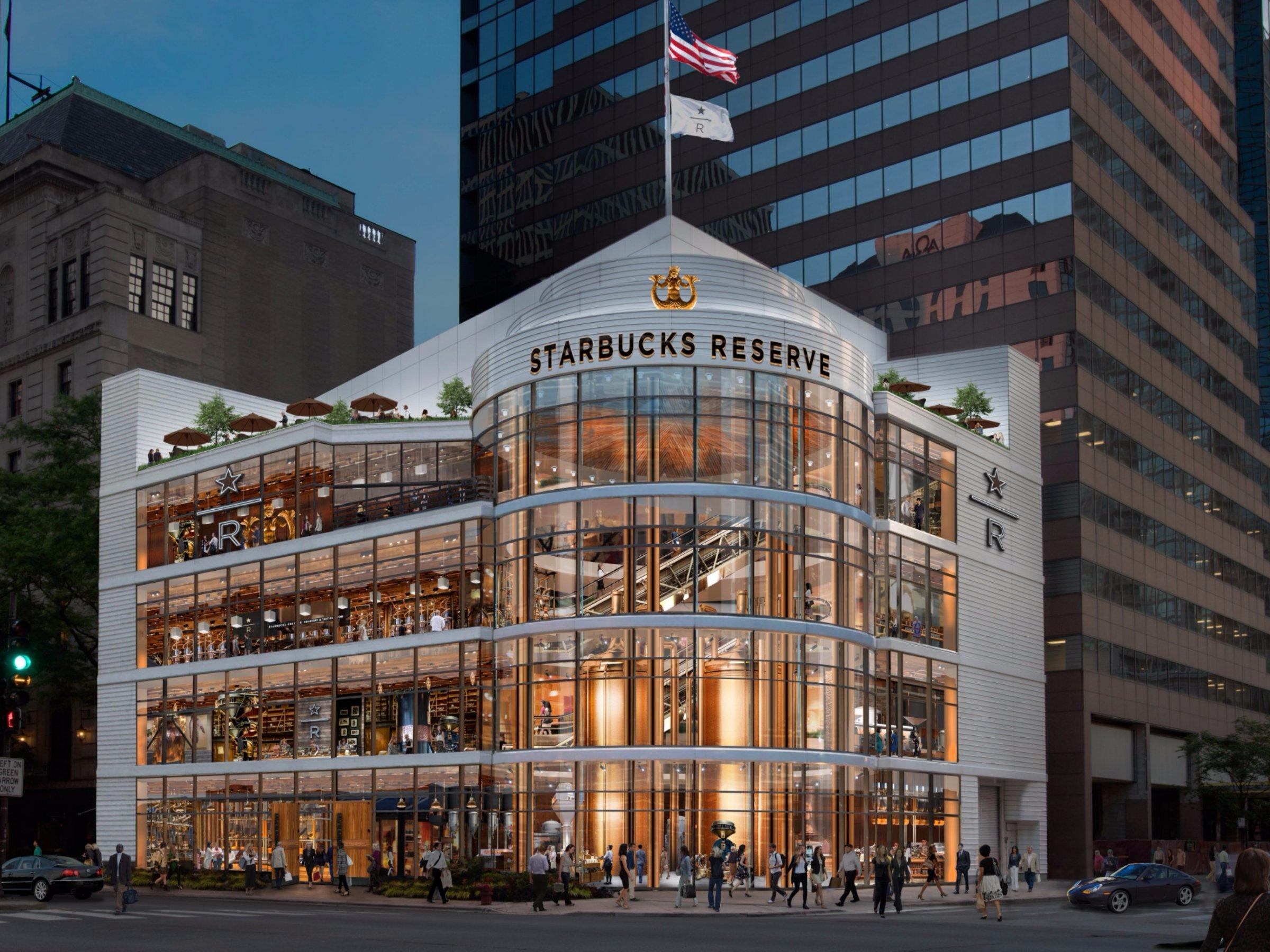 starbucks roastery chicago - Starbucks abrirá en Chicago su tienda más grande en Estados Unidos