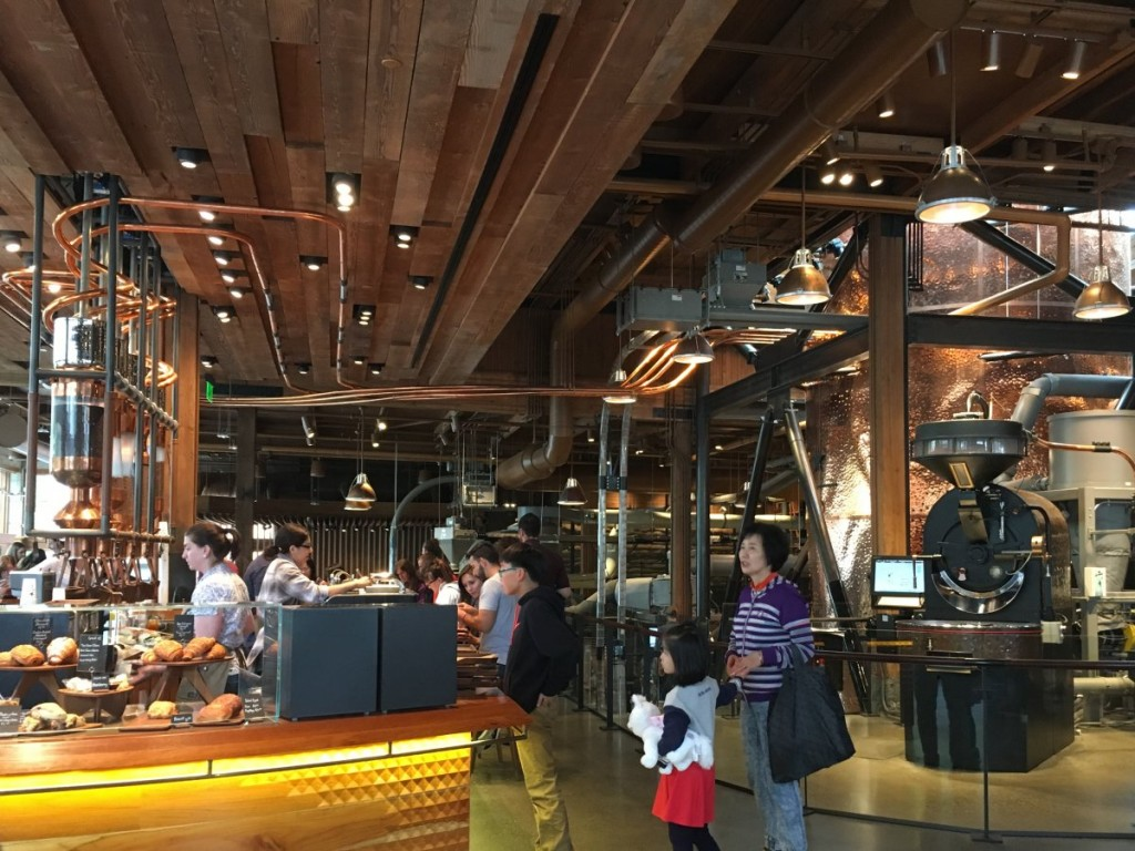 starbucks roastery seattle 12