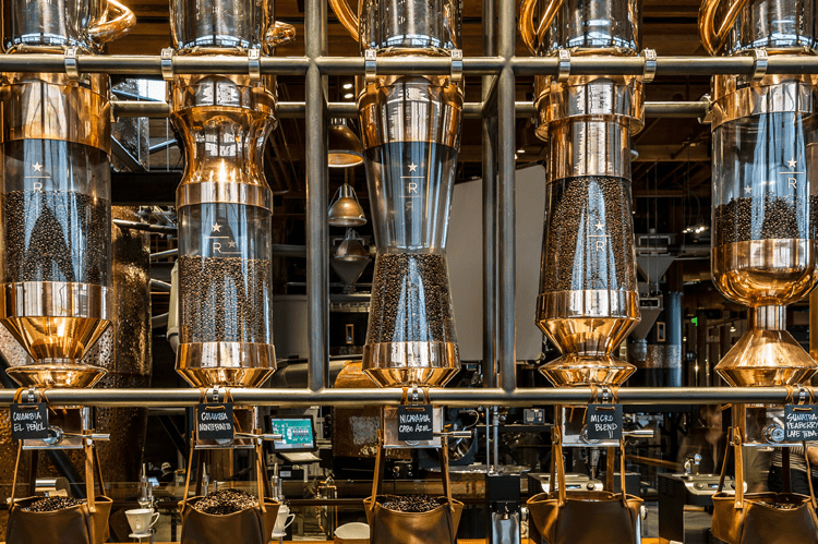 starbucks roastery seattle 3
