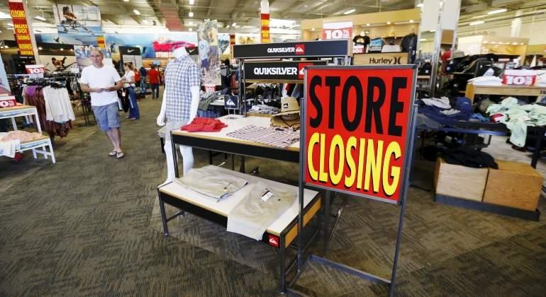 store closing - Más de 8000 tiendas fueron cerradas en Estados Unidos en el 2017