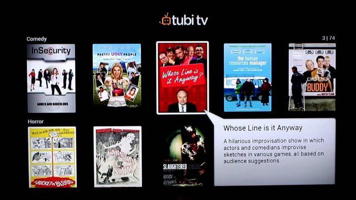 streaming tubi perú retail - Estas son las nuevas plataformas gratuitas que competirán con Netflix