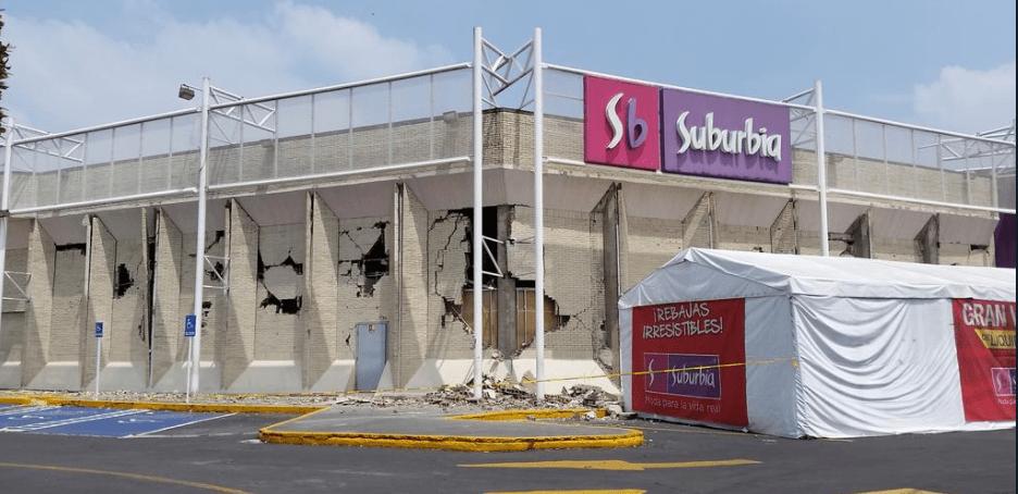 suburbia méxico terremoto - Sector retail en México perdería casi $3.600 millones tras terremoto