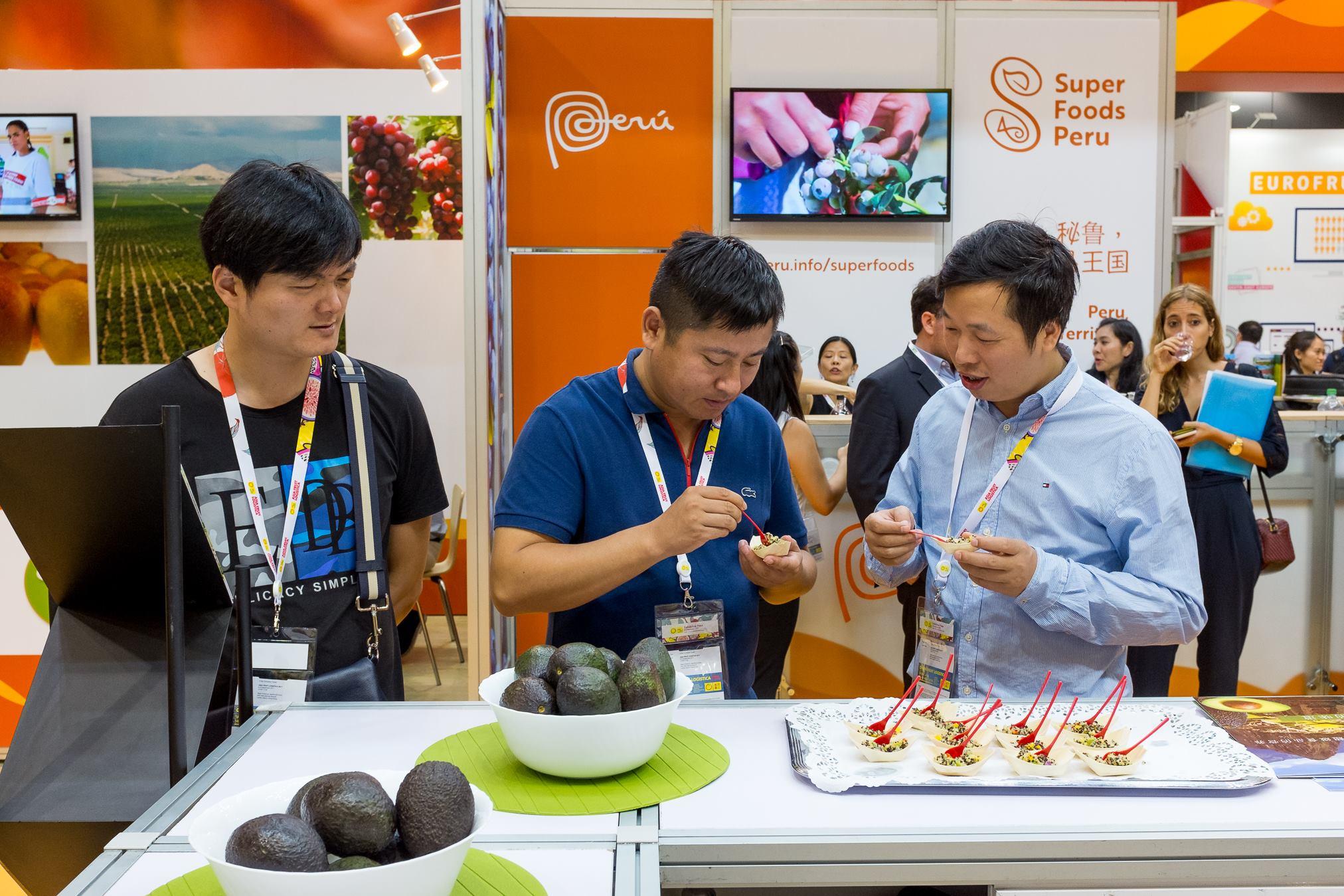 super foods peru asia fruit logistica 2017 2 - Super Foods Peru concretan negocios por US$ 138 millones en Asia