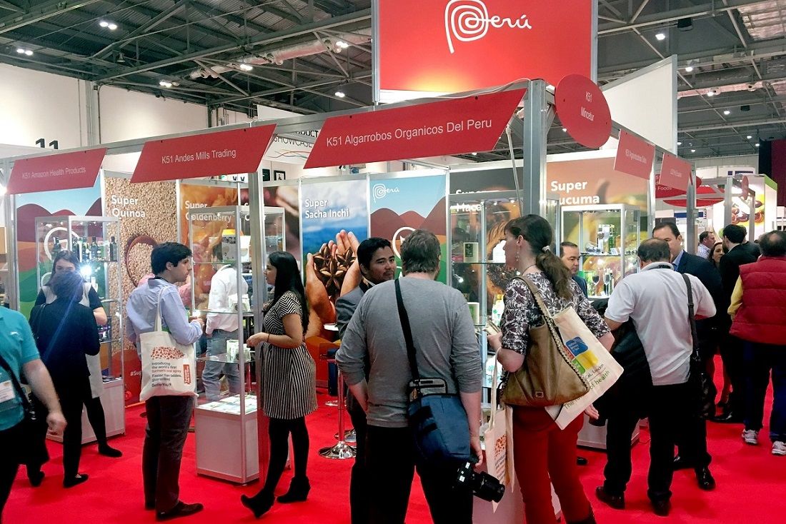 superfoods londres - Empresas peruanas de alimentos logran cerrar ventas gracias a marca 'Superfoods Perú'
