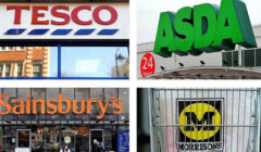 supermecados londres reino unido asda tesco morrisons sainsburys 240x140 - Reino Unido: La peor temporada navideña para el sector retail de la última década