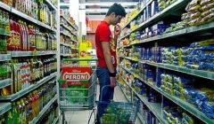 compradores de supermercados