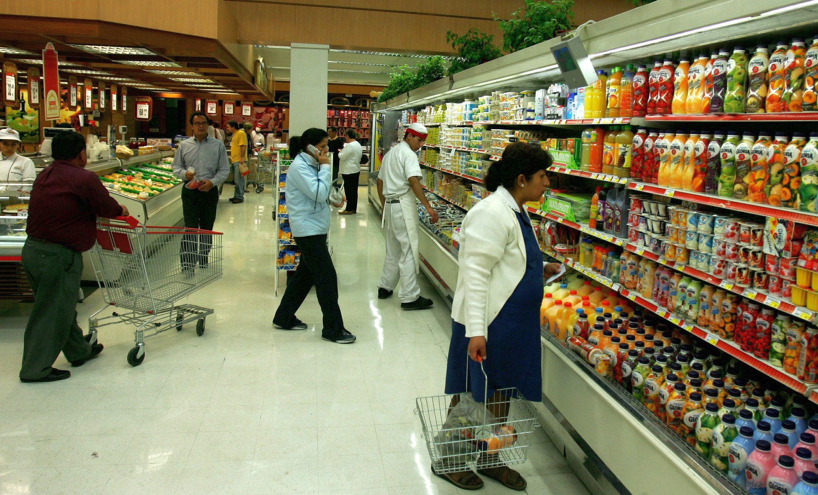supermercadooo1 - Desaceleración del PBI peruano se agudiza y crece tan solo 0.17% en abril