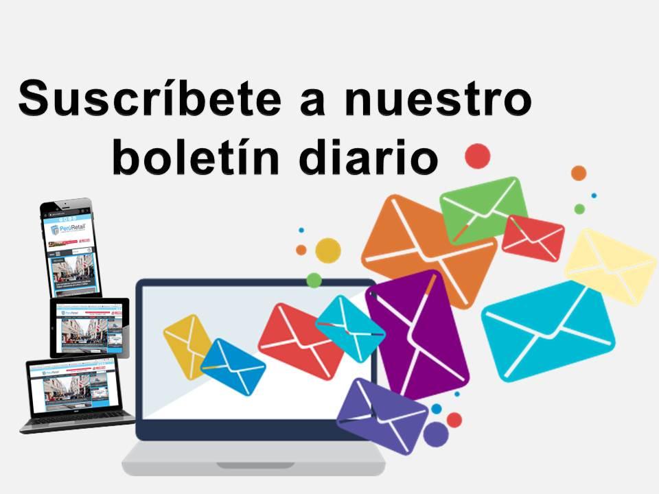 suscripción peru retail - Con 3 pasos inscríbete gratuitamente al boletín diario de Perú Retail