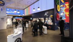 The Swatch store in Time Square