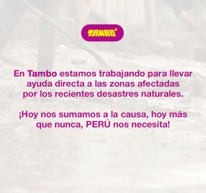 taMBO 300x282 - Conoce las marcas que están apoyando a los damnificados por los huaicos