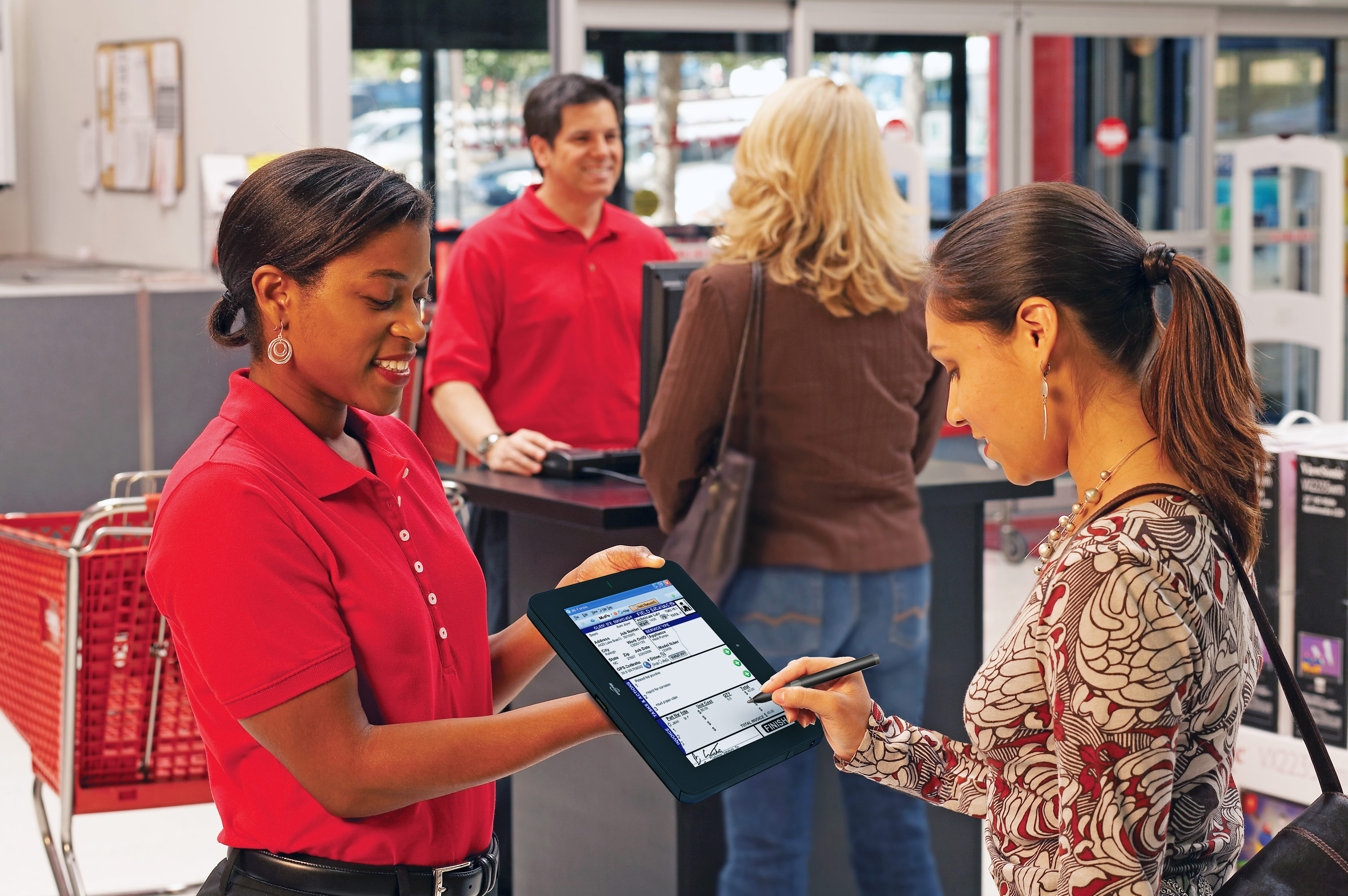 tablet sector retail