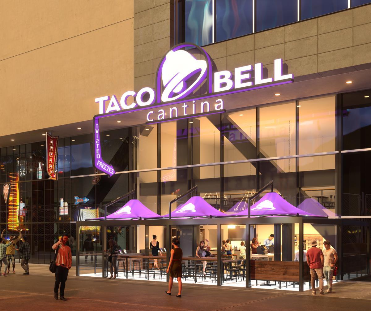 """taco bell cantina 4 - Taco Bell abriría más de 300 locales """"Cantina"""" hasta el 2022 en Estados Unidos"""