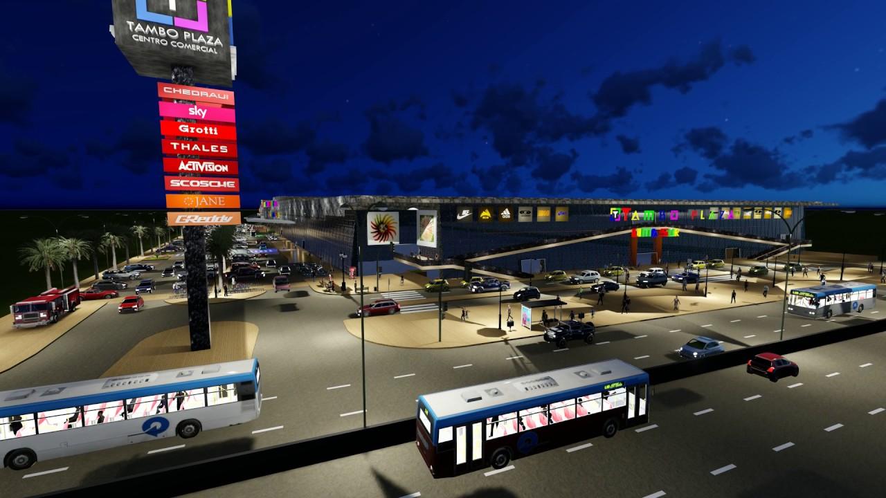 tambo plaza lima sur - Perú: Nuevo mall Tambo Plaza Lima Sur ingresará al distrito de Lurín