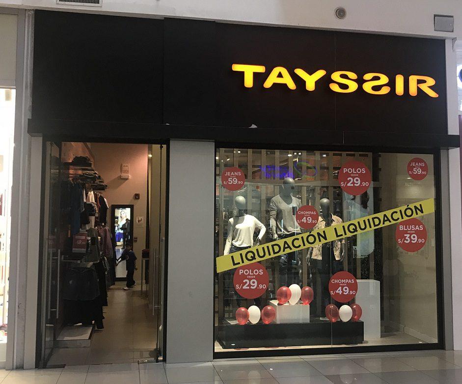 tayssir cierre de tiendas - Perú: Smart Brands cierra tiendas de Tayssir para enfocarse en el canal tradicional y departamentales