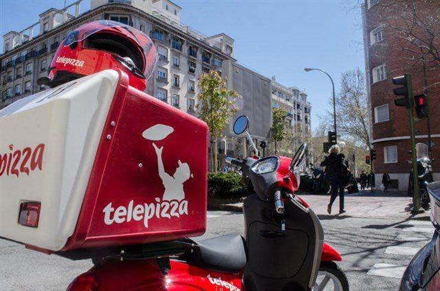telepizza imagen moto - Telepizza abriría entre 400 y 500 tiendas a lo largo de la costa del Pacífico