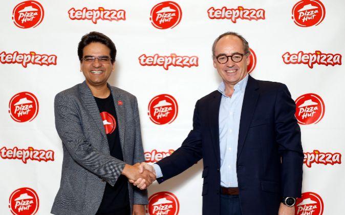 telepizza pizza hut - Pizza Hut y Telepizza se unen para crecer en Latinoamérica