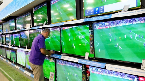 televisores retail - Perú: Mercado de electrodomésticos facturará US$ 200 millones por Copa América y Día del Padre