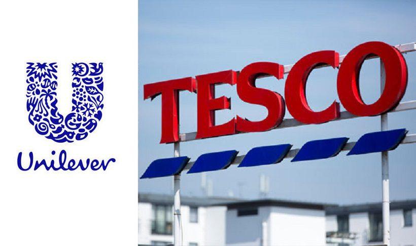 tesco - Tesco retira productos de Unilever tras la caída de la libra