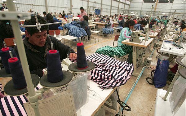 textiles peruanos - Perú: Exportaciones de prendas de vestir subió 8% más en el primer semestre del año