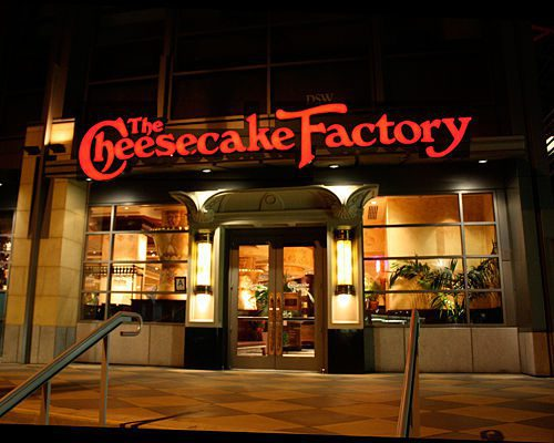 The cheesecake factory en Colombia