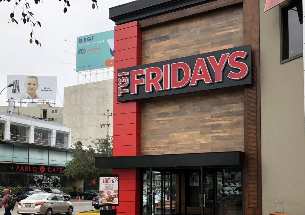tienda fridays 1024x720 - Ecuador: El negocio de las franquicias que llegan con experiencia