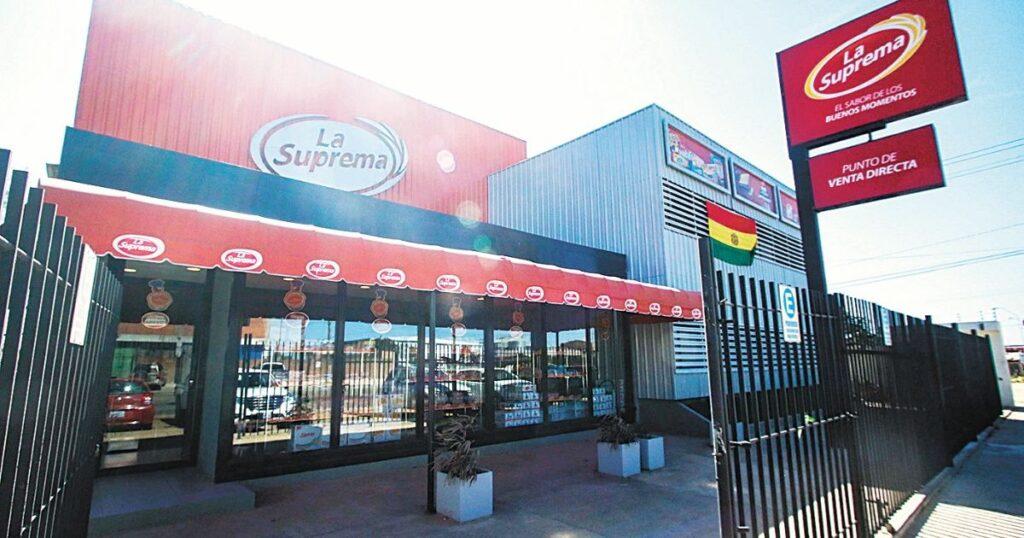 tienda la suprema 1024x538 - Productos de La Suprema son consumidos por más del 80% de hogares bolivianos