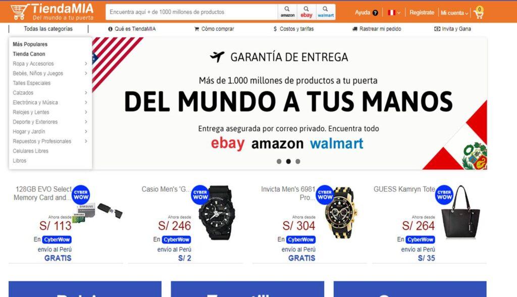 tienda mia Perú Retail 1024x588 - Cyber Days 2019: Entérate cómo adquirir productos gratis de eBay, Amazon y Walmart