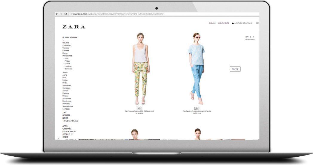 tienda online zara