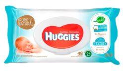 toallitas puro y natural huggies 248x144 - Anuncian retiro de toallitas húmedas para bebés por contener bacterias