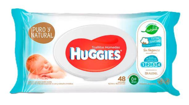 toallitas puro y natural huggies - Anuncian retiro de toallitas húmedas para bebés por contener bacterias