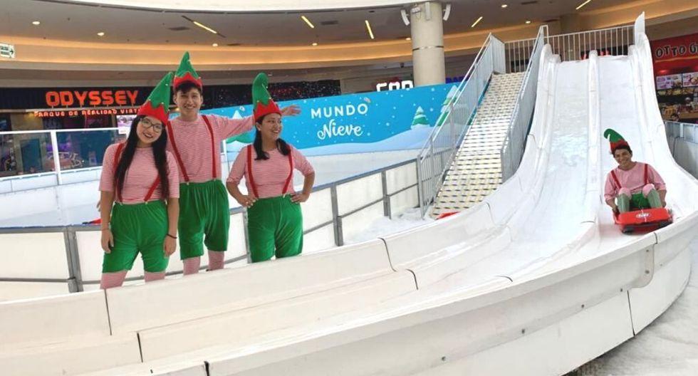 tobogan de hielo 1 peru retail - Conoce el tobogán de hielo para niños que se inaugura mañana en Lima