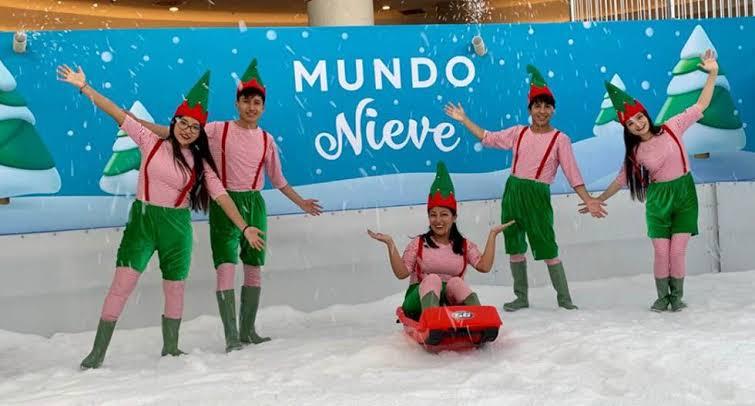 tobogan de hielo 2 peru retail - Conoce el tobogán de hielo para niños que se inaugura mañana en Lima